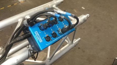 XLR over ethernet snake Loom stagebox