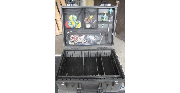 Peli Case Inlay with dividers ans tool bag