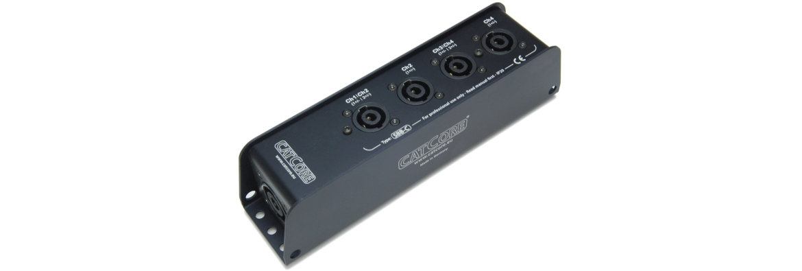 Stagebox Splitter Speakon NL8 to NL4
